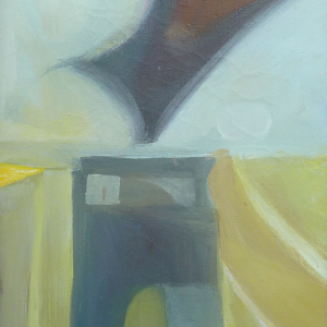 1955 abstract. Measures: 18x12 inches
